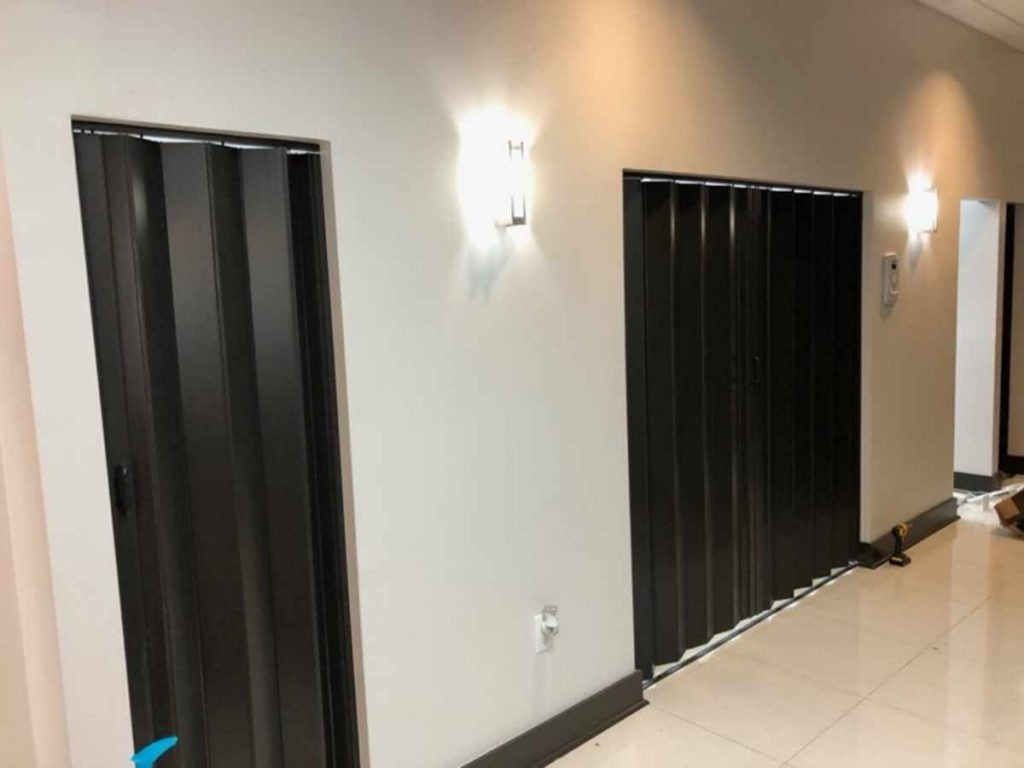 Safety measures during COVID-19 treatment rooms are secluded