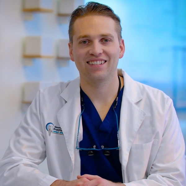 Nicholas Miller, DMD, MS, FACP at Georgia Prosthodontics Atlanta